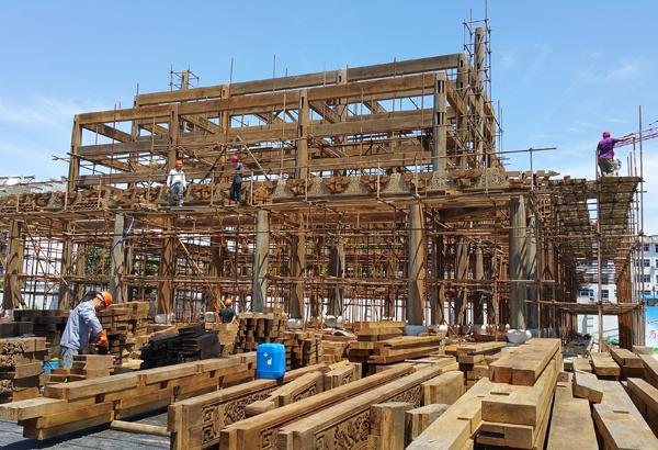 大殿木构架