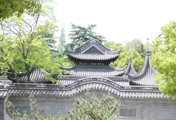 海陵阁景墙